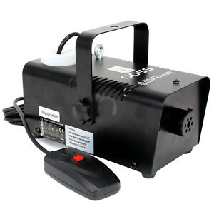 Mini Smoke Machine, Halloween Mist FREE SMOKE FLUID & DELIVERY!