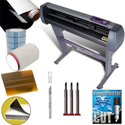 Uscutter 28 Vinyl Cutter Plotter Kit Designcut Software - Make Decals Signs