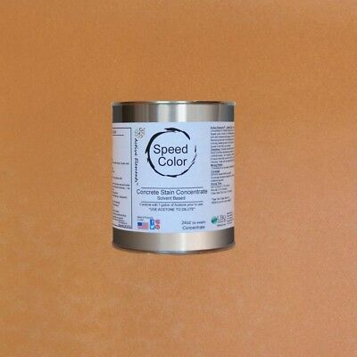 Fast Drying Concrete Paint 24oz Concentrate Yields 1 Gal Desert Gold Color