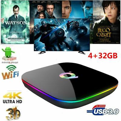 Q Plus Smart TV Box Android 9.0 H6 4GB / 64GB HD 6K H.265 2.4G WiFi Media Player