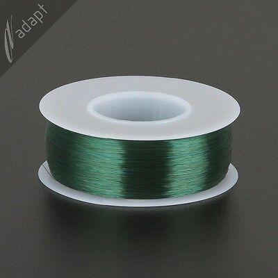 Magnet Wire Enameled Copper Green 38 Awg Gauge 155c 14 Lb 4825 Spn