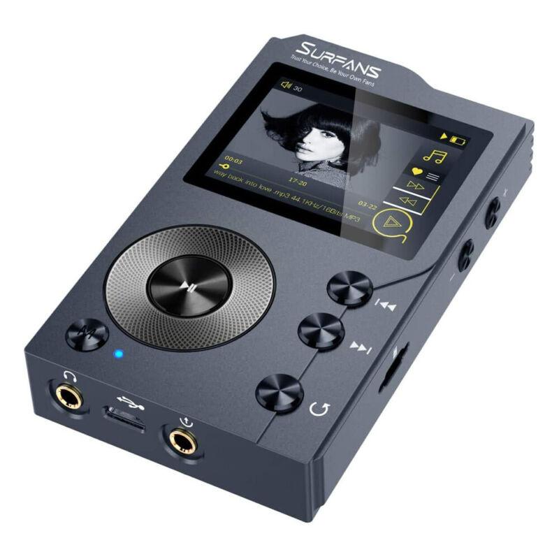 Surfans HiFi MP3 Player Lossless DSD High Resolution Digital Audio Music Player