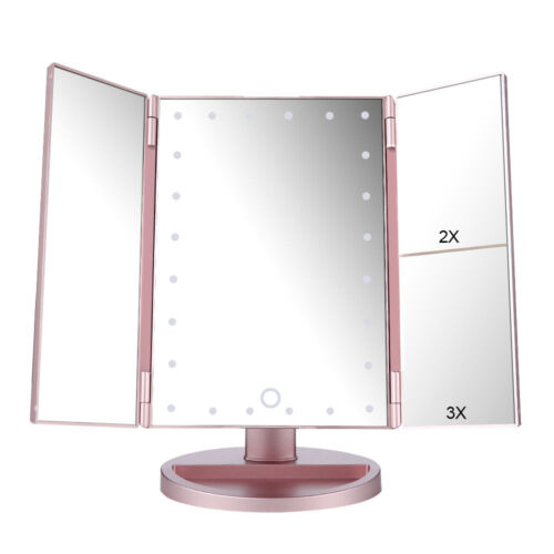 24 led lighted magnifying cosmetic vanity makeup