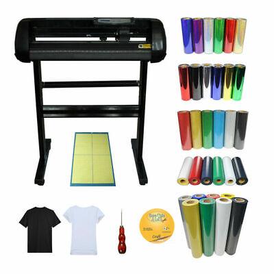 24 Vinyl Cutter Plotter 5kinds Of Heat Transfer Vinyl Cutting Mat T-shirts Kit