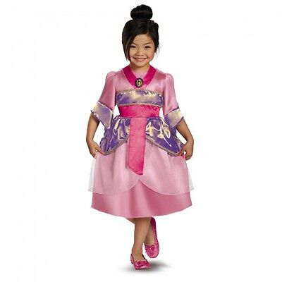 Disney Princess Mulan Sparkle Classic Toddler Child Costume](Disney Mulan Costume)