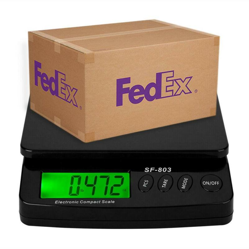 High Precision LCD Digital Postal Shipping Scale Capacity of 30KG/1G Black US