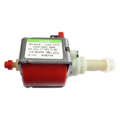 ULKA EP5 Bomba de Agua Para Cafeteras Automáticas - 230V/50Hz/48W Electrobomba