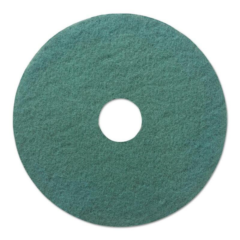 Premiere Pads 20 In. Dia Standard Heavy-Duty Scrubbing Green Floor Pad (Case Of