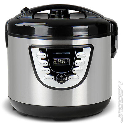 Multikocher Kocher Kochtopf Küchengerät Reiskocher Dampfgarer Schnellkochtopf 4l