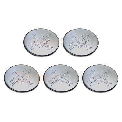 5 PACK Battery Coin Button Watch Calculator 3V BR2016 DL201600 ECR2016 DL2016