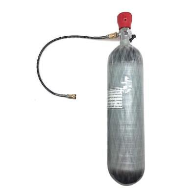 Diving 3L 4500psi Carbon Fiber Air Tank&Fill Station Regulator SCUBA PCP CE US Carbon Fiber Scuba
