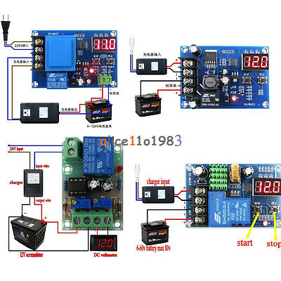 12v24v 6-60v Battery Charging Control Board Charger Power Supply Switch Module