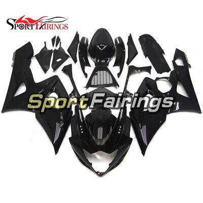 Black Fairings for Suzuki 2005 2006 GSXR1000 Bodywork K5 05 06 GSX-R1000 Panels
