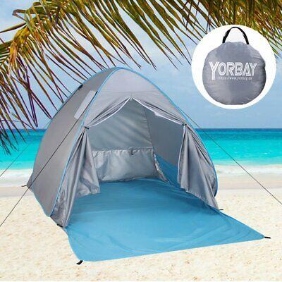Strandzelt Super Bluecoast Strandschirm Outdoor Sonnenschutz Cabana Automatik Pop Up UPF 50+