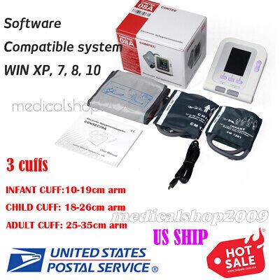 Contec Digital Blood Pressure Monitor Contec08a With 3 Cuff Software Fda Ce