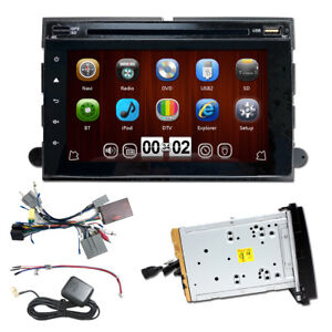 Bluetooth DVD CD Player GPS Navigation Radio for 07-11 Ford Explorer Sport Trac