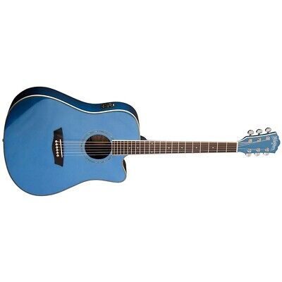 Washburn WCD18CEMBL Comfort Series Acoustic-Electric Guitar