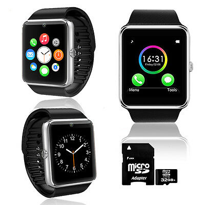 inDigi Gt8 Bluetooth Smartwatch & Phone For All Iphone An...