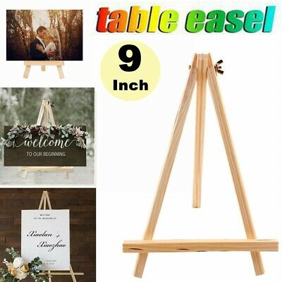 Portable Mini Wood Table Top Wooden Painting Easel Wedding Picture Display Stand](Table Top Easels)