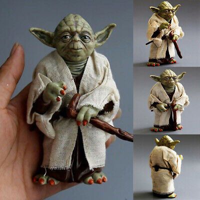 12cm Star Wars Clone Wars Yoda Jedi Master ACTION FIGURES For Kids Best Gift NEW
