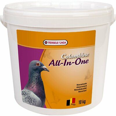 Versele Laga Colombine All-In-One 10kg PIGEON MINERAL MIX WITH REDSTONE (VL1002)