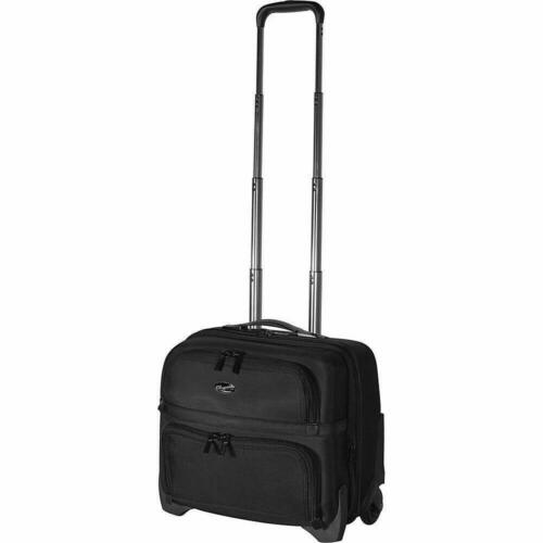 """$200 New Olympia USA 'Elite' 18"""" Business Rolling Case Under"""