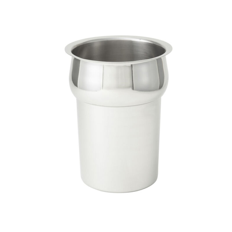 Winco INS-2.5, 2.5-Quart Stainless Steel Inset