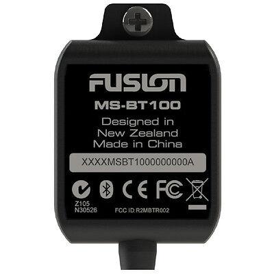 FUSION MS-BT100 BLUETOOTH - Fusion Bluetooth