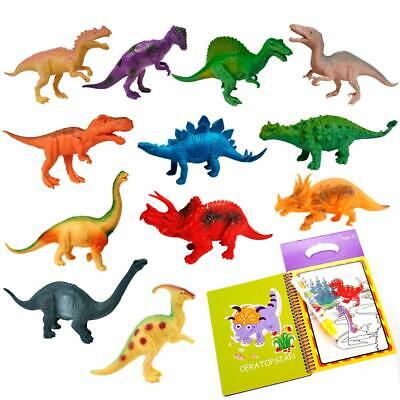 """Creative Adventure Realistic Looking 7"""" Dinosaur Toys for Boys Girls Toddlers - Dinosaurs Toys For Toddlers"""