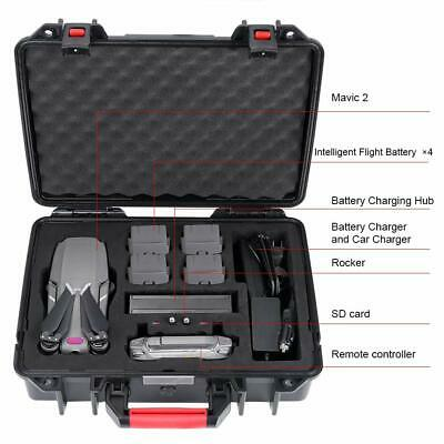 Smatree Waterproof Hard Carry Bag Case for DJI Mavic 2 Pro/Zoom Fly More Combo