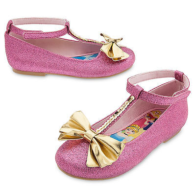 Nwt Disney Store Disney Princess Flat Shoes Size 7 8 9 10 11  12  13 1 Girls