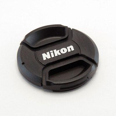 NIKON LC-55 STYLE 55MM CENTRE PINCH CLIP ON LENS CAP FOR NIKON GENERIC