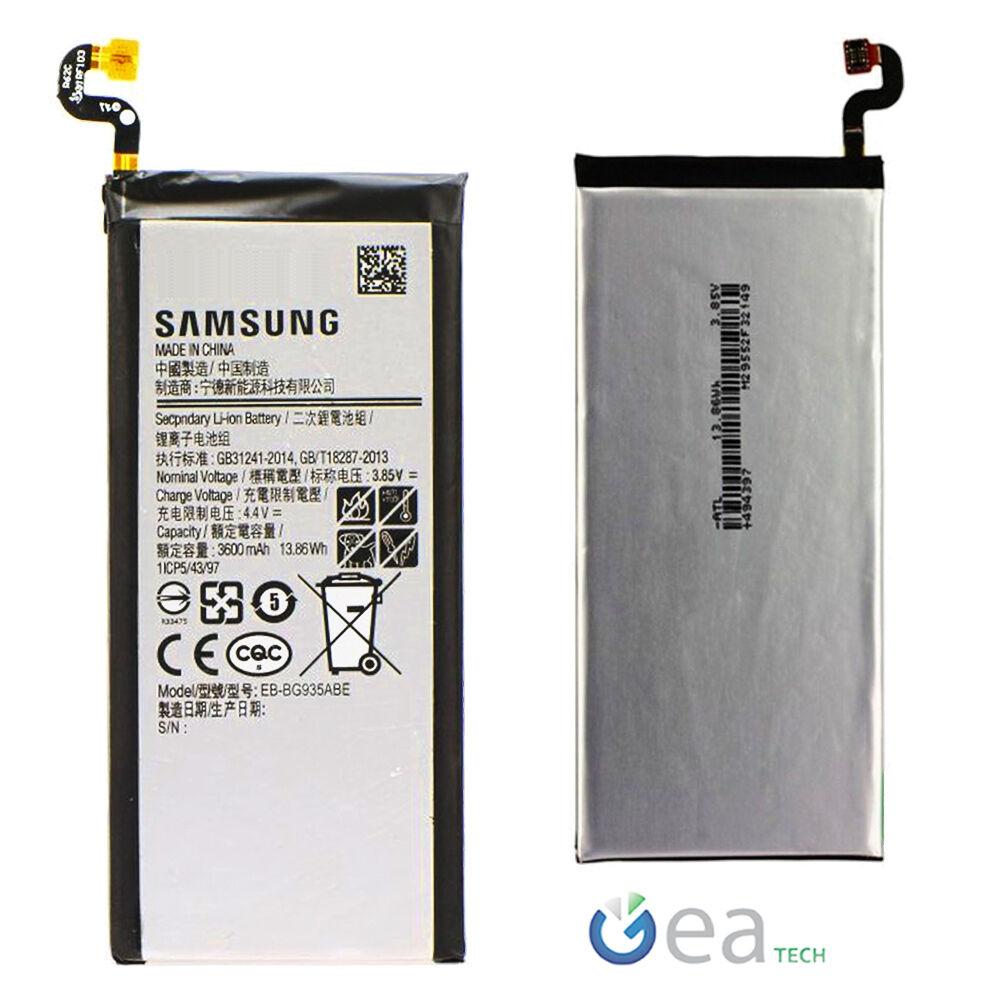 Batteria EB-BG935ABE ORIGINALE SAMSUNG 3600mah per Galaxy S7 EDGE G935F Ricambio