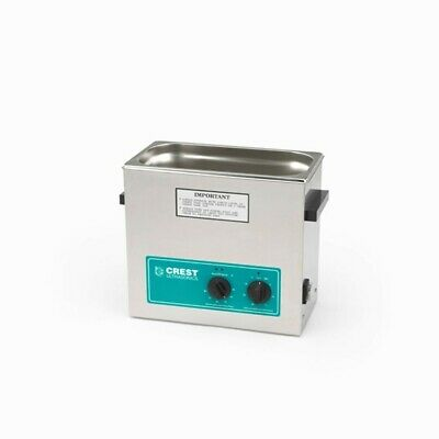 Crest Cp500ht Cp500-ht 1.5 Gal. Ultrasonic Cleaner-heat Timer