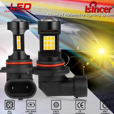 9006 HB4 2800LM LED Fog Light Bulbs Car Driving Lamp DRL Yellow High Power 2PCS