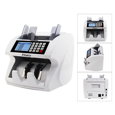Aibecy Multi-currency Counter Cash Banknote Money Bill Lcd Counting Machine I0y5