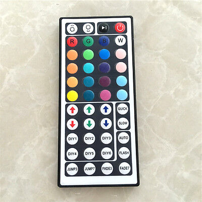 Rgb Led Strip Controller - 24/44 Key IR Remote Controller Box AC/DC 12V For LED RGB 3528/5050 Light Strip