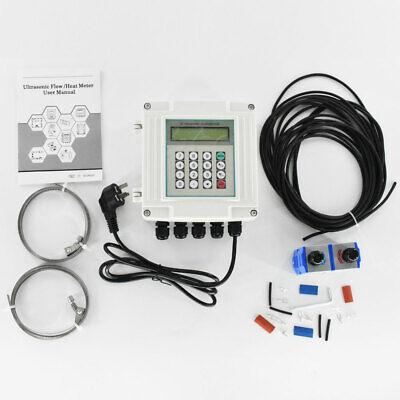 Ultrasonic Flowmeter Wall-mounted Digital Water Flow Meter Tuf-2000sw Dn50-700mm