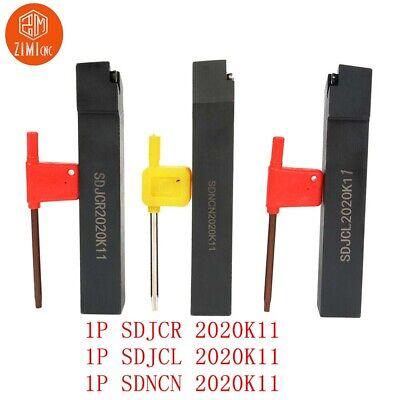 SDJCR 2020K11 20x125mm Lathe Turning Tool Holder Boring Bar