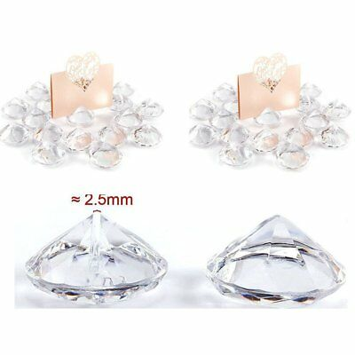 20 Wedding Table Crystal Centerpieces Number Card Holder Party Decorations