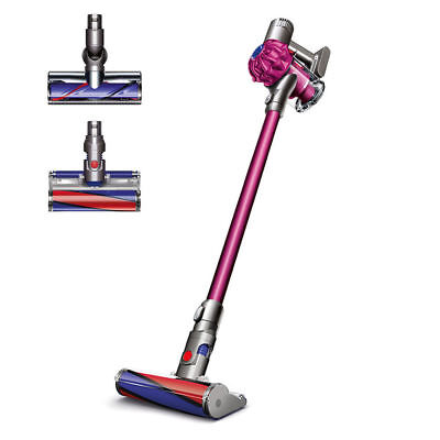 Dyson SV04 V6 Absolute Cordless Vacuum | Fuchsia | Refurbished