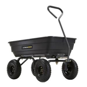 New 600 lb. Poly Garden Dump Cart (pick up) PU3