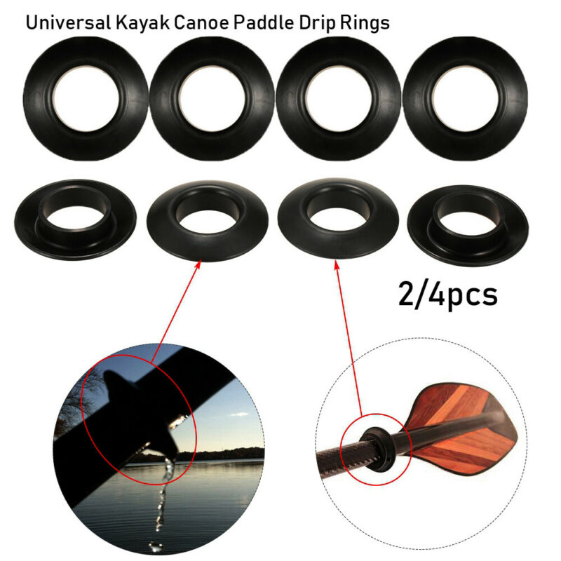 Canoeing Parts 20pcs//pack Kayak Paddle Canoe Rubber Drip Rings Kayaking