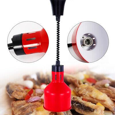 Portable Food Warmer Heat Lamp Telescopic Heating Light 250w Restaurant Kitchen