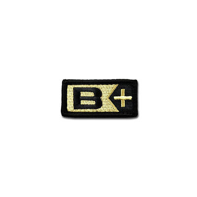 Tactical Combat Bag Hat Badge Morale Patch EMB Hook and Loop by BASTION - B+ ACU