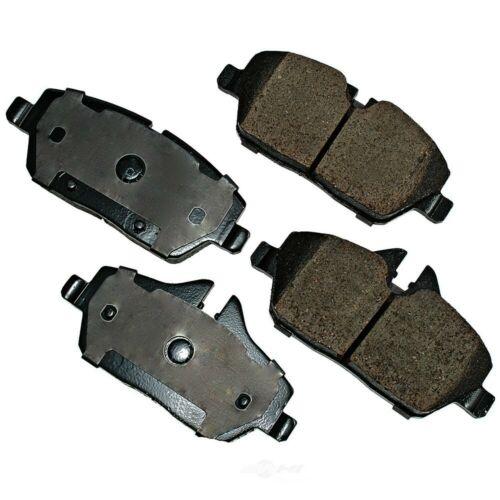 Akebono EUR1308 EURO Ultra-Premium Ceramic Brake Pad Set