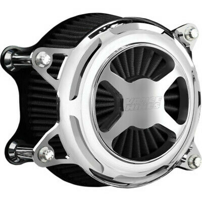Vance & Hines Chrome VO2 X Air Cleaner Filter Intake Harley Softail Dyna 99-17