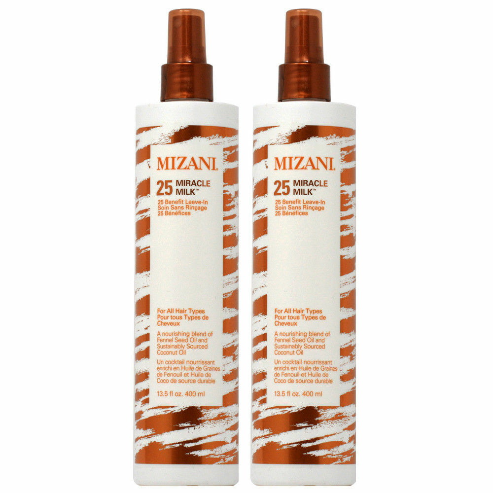 Mizani Miracle Milk 25 Leave In 13.5oz 2 Pack Hair Care & Styling