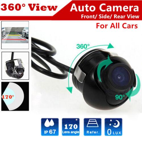 US HD Night Vision 360 Degree CCD Car Rear View Cams Parking Camera Waterproof