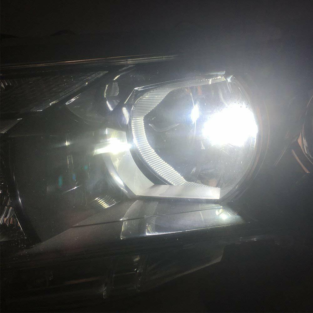 как выглядит H7 LED Headlight Bulbs Conversion Kit Hi/Lo Beam 80W 8000LM 6000K Super Bright фото